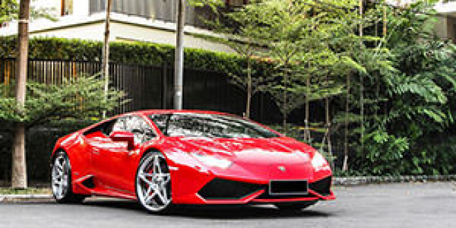 Lamborghini Huracan на дисках Forgiato Wheels