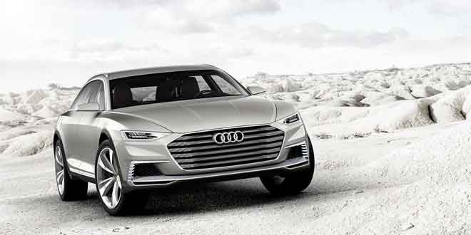 Концепт Audi prologue allroad рассекречен