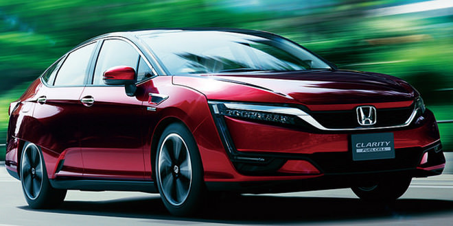 Honda выпустила водородный седан Clarity Fuel Cell