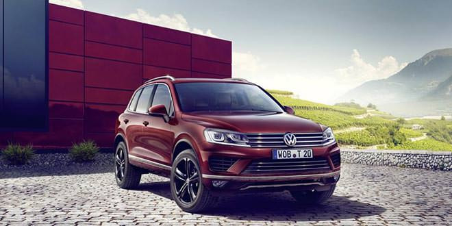 Вышла спецверсия Volkswagen Touareg Executive Edition