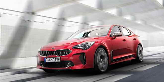 Фастбэк KIA Stinger — ответ BMW 4-Series Grand Coupe