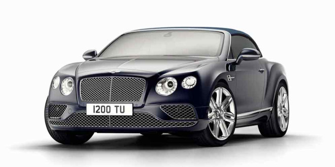 Вышел прощальный Bentley Continental GT Timeless Series