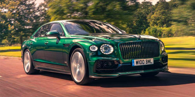 Bentley Flying Spur стильно приоделся в Styling Specification