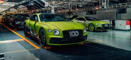 Первый из 15 Bentley Mulliner Pikes Peak Continental GT готов