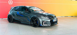 Представлен концепт VW Golf GTE HyRACER