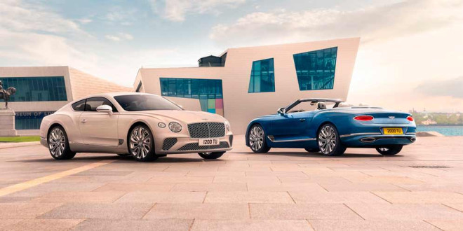 Вышел новый Bentley Continental GT Mulliner 2021 года