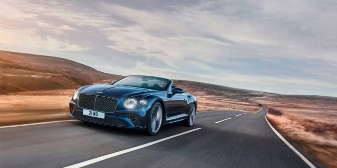 Вышел новый кабриолет Bentley Continental GT Speed Convertible