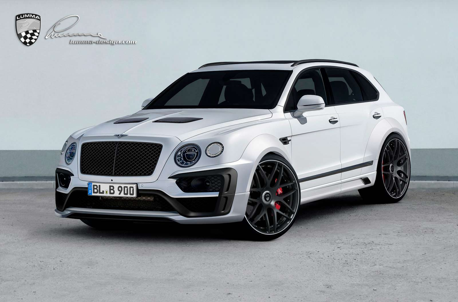 Тюнинг Bentley Bentayga CLR B900 от Lumma Design