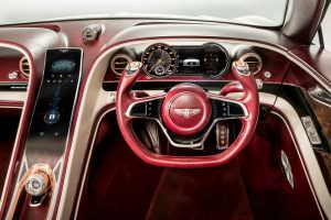 Руль Bentley EXP 12 Speed 6e EV Concept
