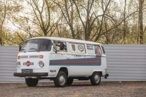 Фургон Volkswagen T2 Transporter Martini Racing 1977 года