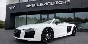 Фото | Родстер Audi R8 Spyder. Тюнинг от Wheelsandmore