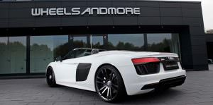 Родстер Audi R8 Spyder. Тюнинг от Wheelsandmore