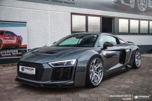 Суперкар Audi R8 V10 Plus PD800WB. Тюнинг от Prior Design