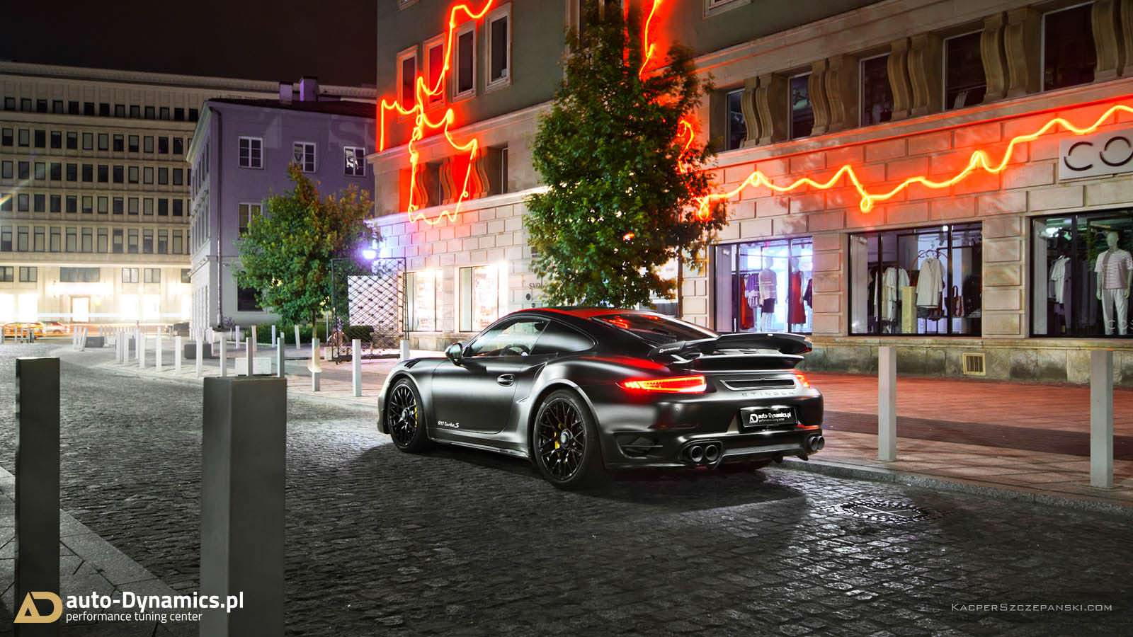 Dark Knight 911 Turbo S ответ Porsche 911 GT2 RS