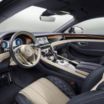 Интерьер Bentley Continental GT 2018