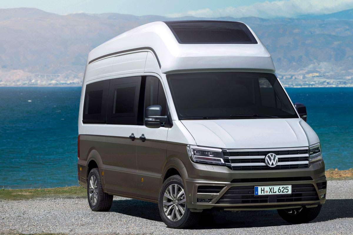 vw california xxl crafter. Black Bedroom Furniture Sets. Home Design Ideas