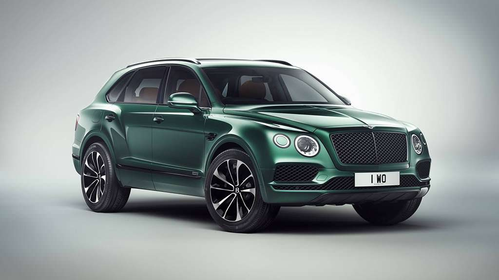 1 из 1 Bentley Bentayga by Mulliner