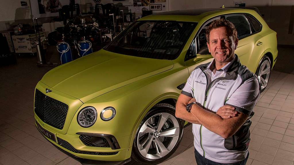 Гонщик Райс Миллен и Bentley Bentayga для Пайкс-Пик