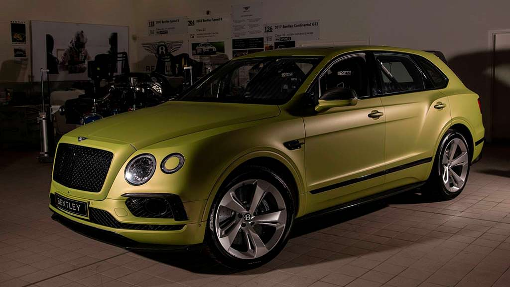 Bentley Bentayga W12 для Пайкс-Пик