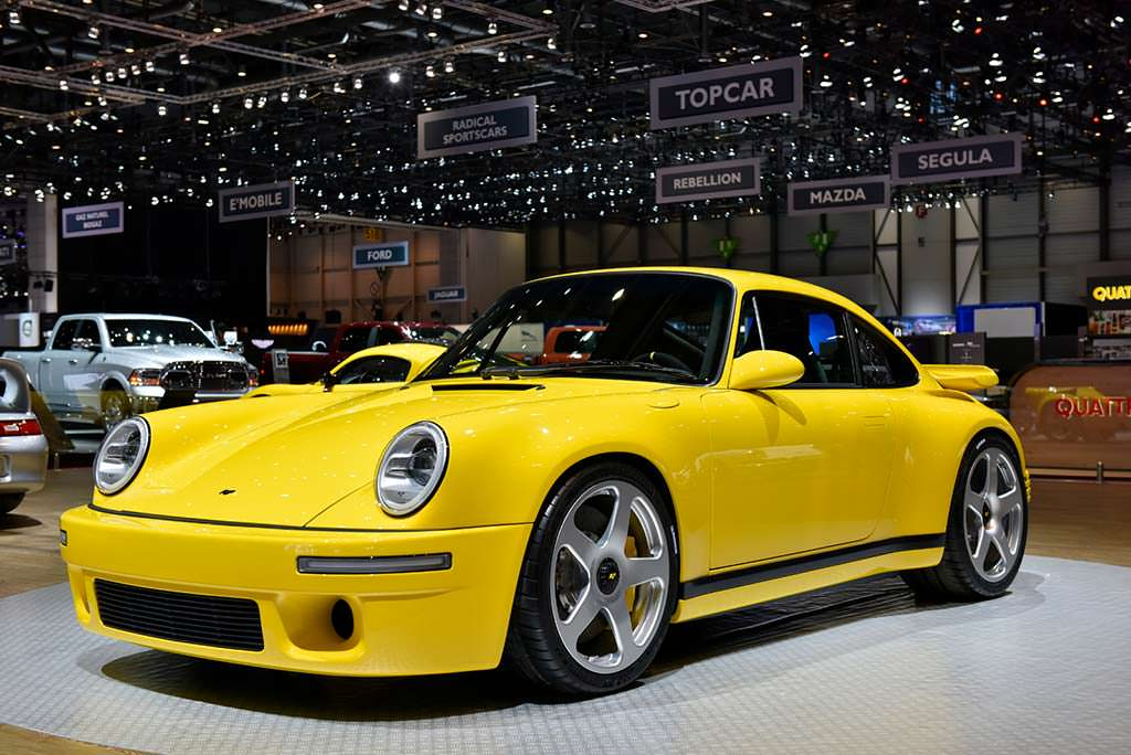 Серийный RUF CTR Yellowbird