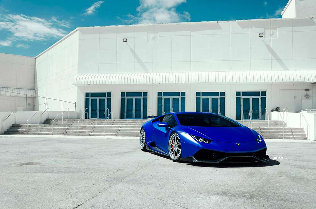 Новый тюнинг Lamborghini Huracan от 1016 Industries