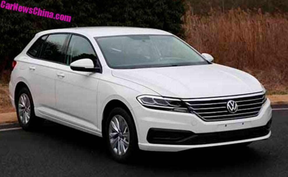Китайский универсал Volkswagen Grand Lavida Plus