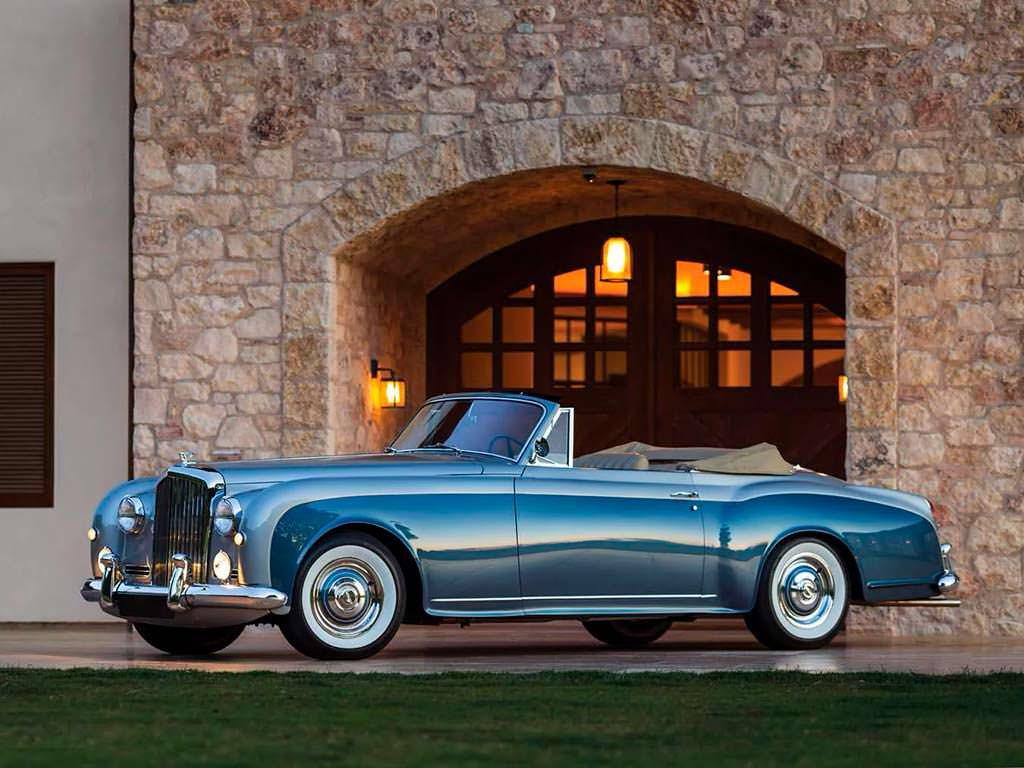 Кабриолет Bentley S1 Continental Drophead Coupe
