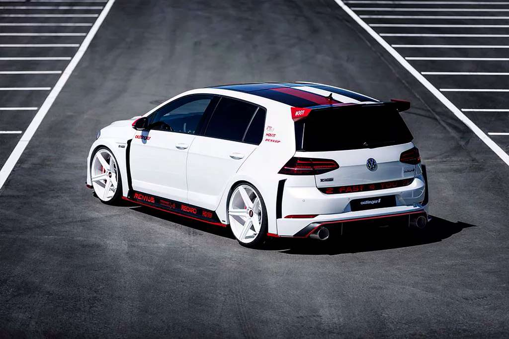 Oettinger Golf GTI TCR Germany Street