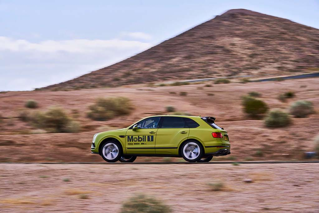 Bentley Bentayga для Pikes Peak International Hill Climb