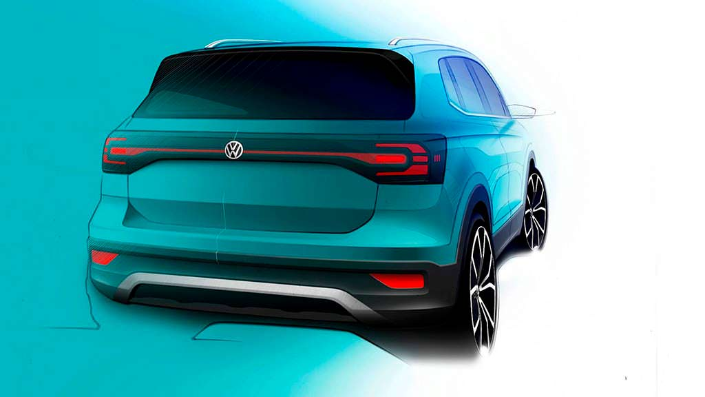 Серийный Volkswagen T-Cross