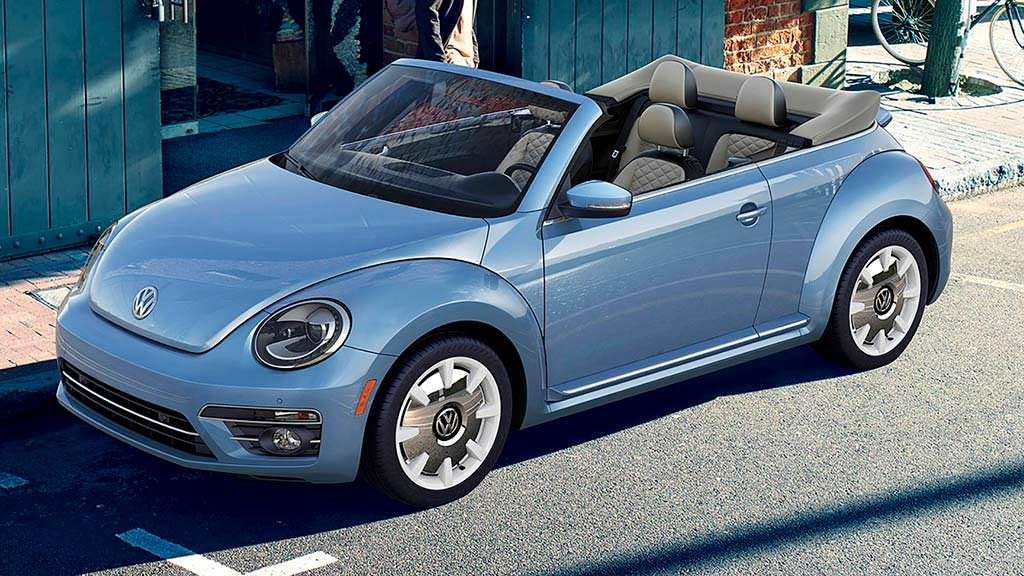 Кабриолет Volkswagen Beetle Final Edition