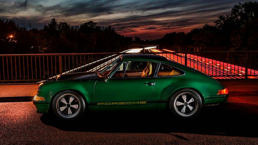 Винтажный тюнинг Porsche 911 964 Carrera 2 The Speed Irishman