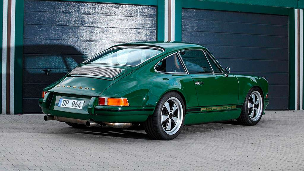 Винтажная Porsche 911 964 Carrera 2 The Speed Irishman