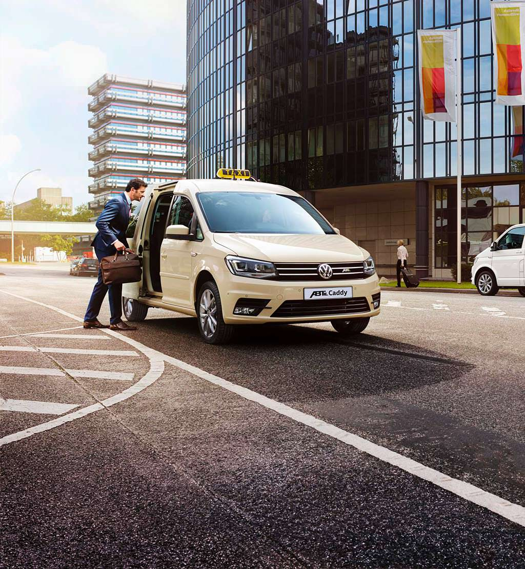 Электро-такси Volkswagen e-Caddy от ABT Sportsline