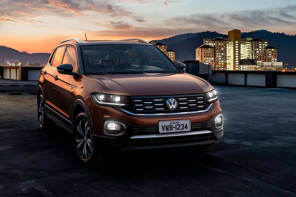 Латиноамериканская версия Volkswagen T-Cross