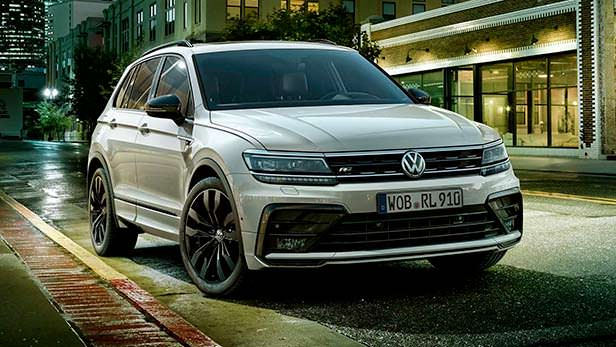 Новый Volkswagen Tiguan Black Style R-Line Design Package