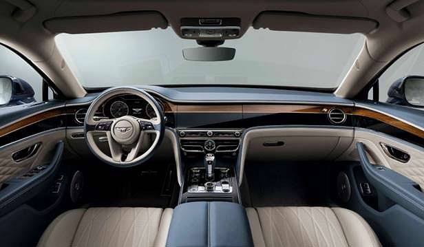 Фото внутри Bentley Flying Spur 2020