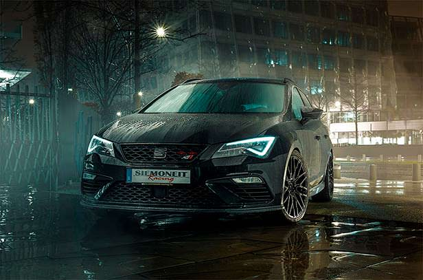 Спортивный универсал SEAT Leon ST Cupra от Siemoneit Racing