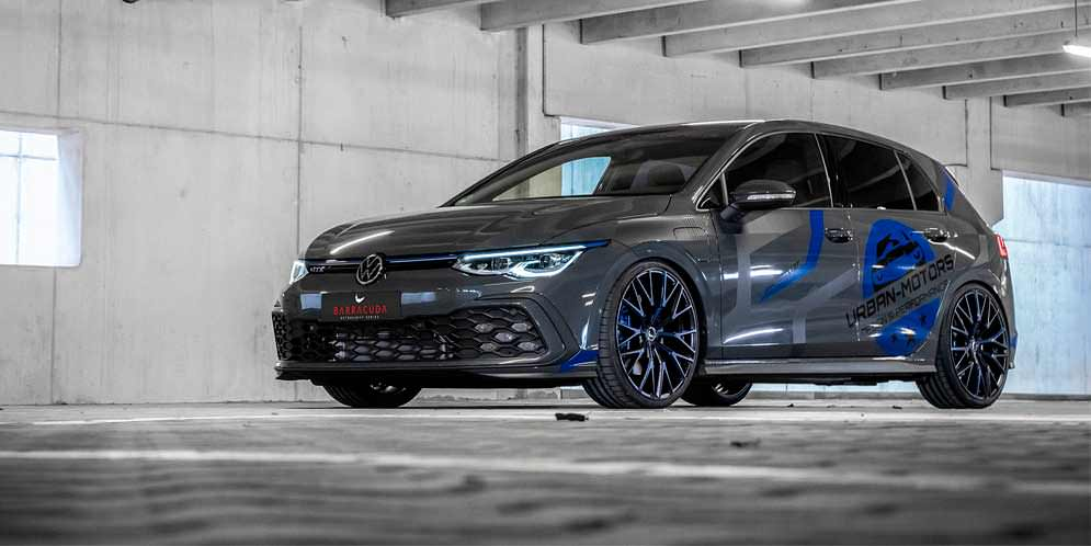 Новому VW Golf 8 GTE сделали тюнинг в Urban Motors | фото